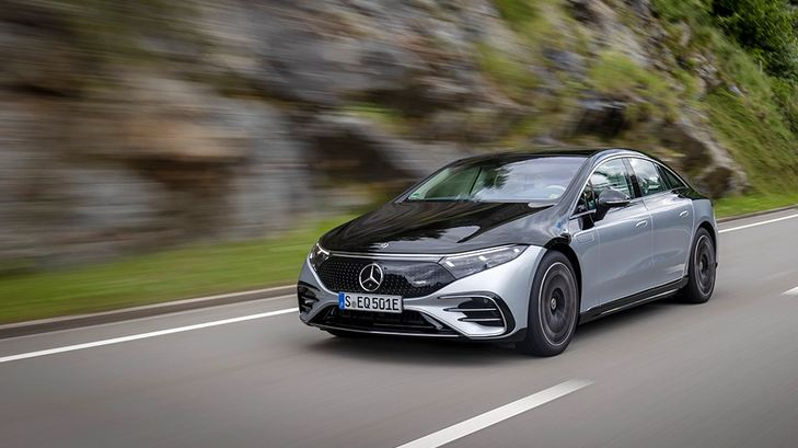 The Mercedes-Benz All-Electric EQS Has a 350-Mile Range, According to the EPA 1