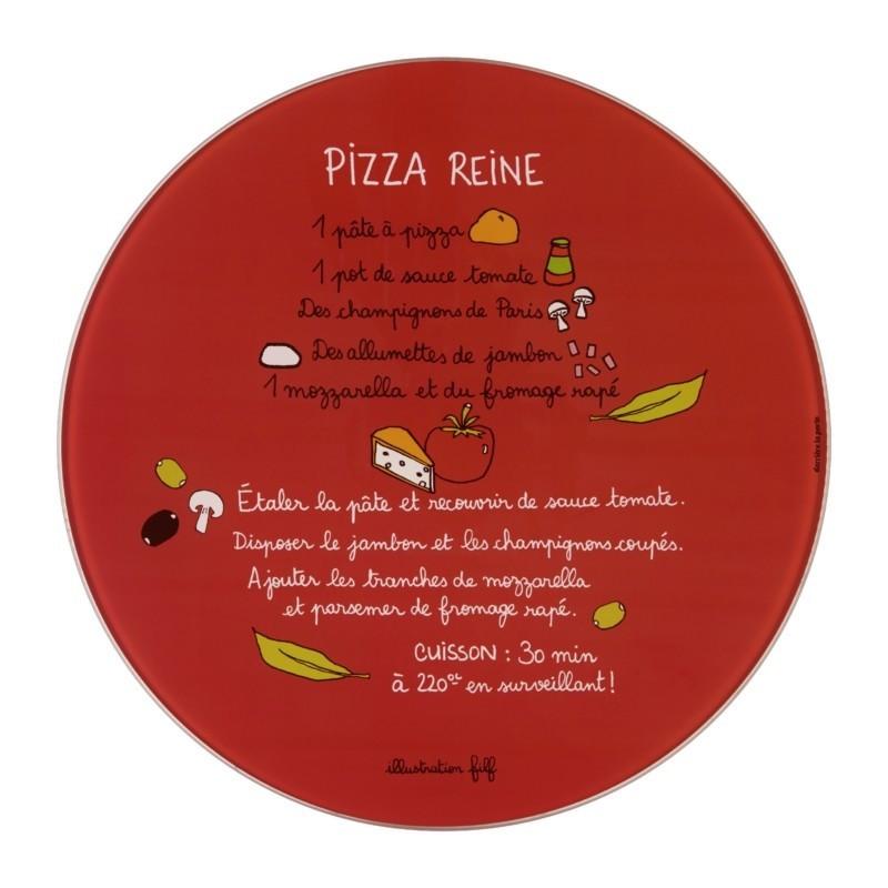 plat a pizza roulette recette pizza