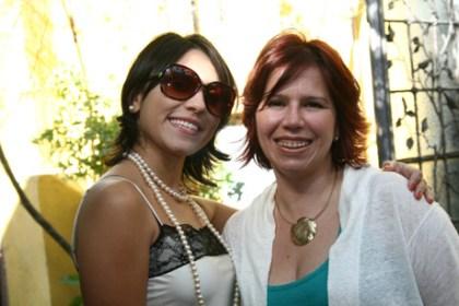 Mayra Alves e Carmen Martins