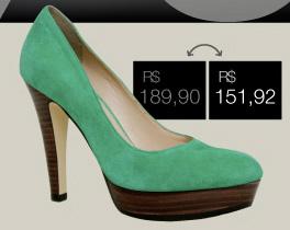 Scarpin de $189,90 por $151,90