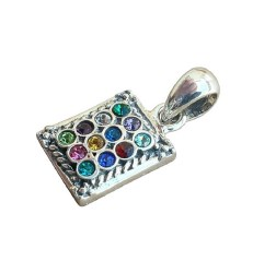 Hosen Pendant Silver 925 With Zircon