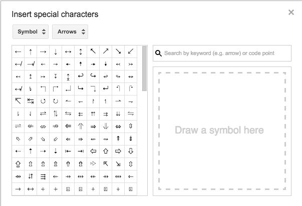 Google Docs 15 Adding Special Characters Learning G Suite