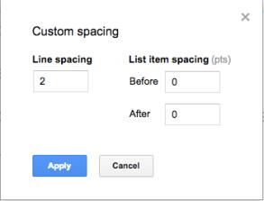 Google Slides (21) – Line spacing & Text indenting | Learning G