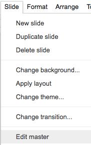 google slide background