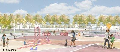 Concorso Spazi pubblici - Aprilia città aperta - la piazza