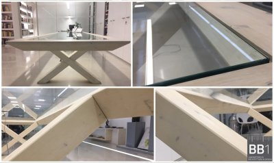TAVOLO BB1 Architettura e design - TABLE X