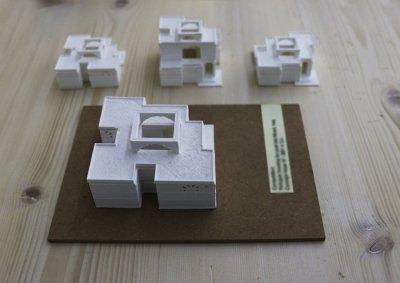 Modellini Casa Araba pianta - Modelli e plastici stampa 3d