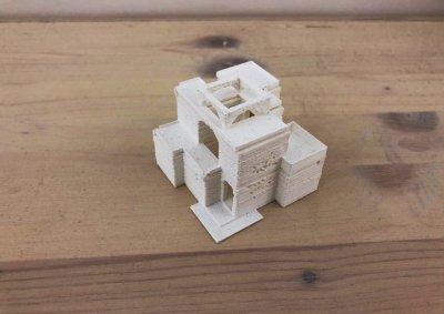 Modellino Casa Araba b - Modelli e plastici stampa 3d