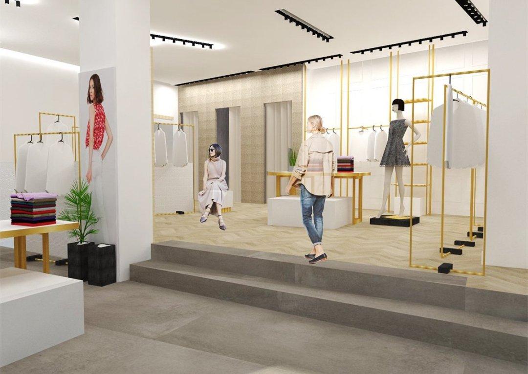 Class Via Tiburtina - Ristrutturazione negozio