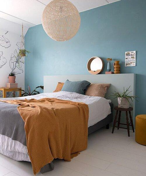 lampadario design camera da letto