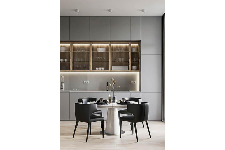 cucina lineare