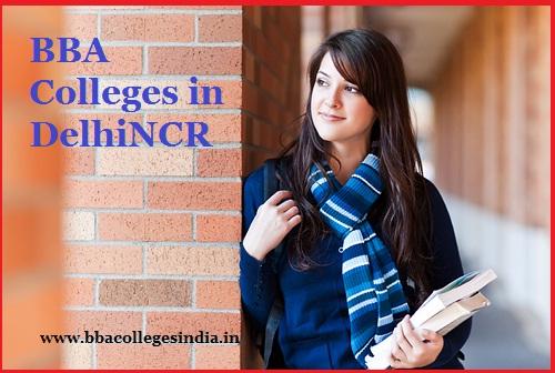 BBA Colleges in DelhiNCR