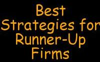 best Strategies for Runner-up Firms