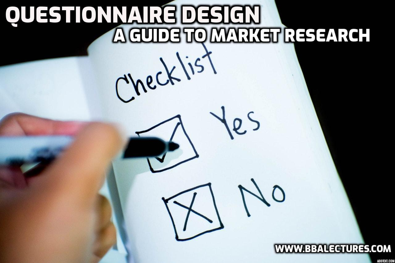 Phrasing Questionnaires
