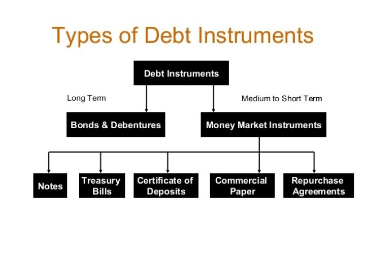 What are the types of Debt Instruments