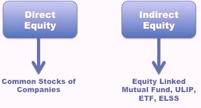 Direct equity investment options