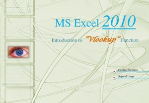 How to Use VLOOKUP Function in Microsoft Excel 2010