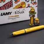 ปากกาลามี่แห่งเป็ดเหลือง! Lamy x B.Duck Anniversary Limited Edition