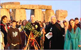 Celebrating the Solstice at Stonehenge