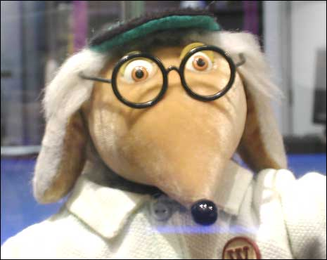 Apparently, this British Muppet thing is also a Womble.
