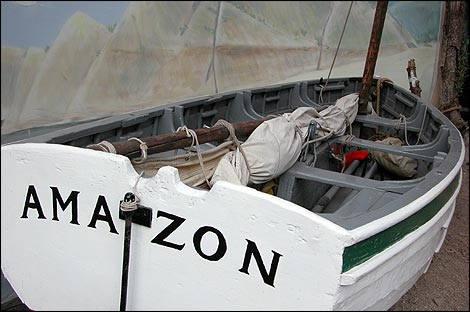 The boat Amazon