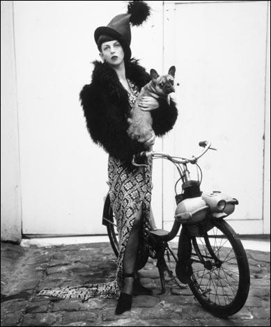 Alexander McQueens muse Isabella Blow.