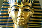 image of mask of Tutankhamun