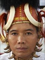Chin tribesman