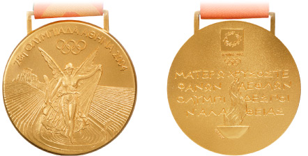 Kevin's Eleven: Best Olympic Medal designs (6/6)