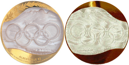 Kevin's Eleven: Best Olympic Medal designs (2/6)