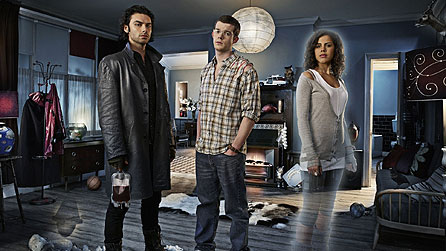 The main cast of Being Human