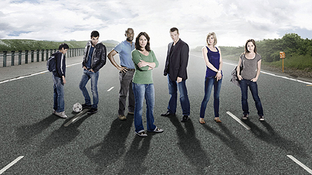Survivors - publicity shot - revised series one cast group shot