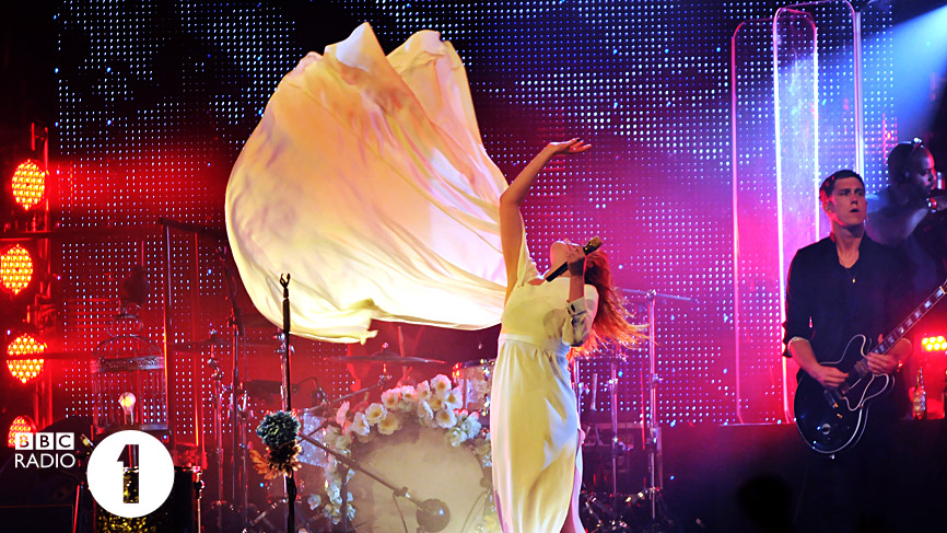 Florence & The Machine performing live at Radio 1's Big Weekend 2010