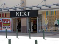 A Next store in Hemel Hempstead, Herts