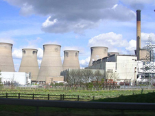 Cooling towers in York