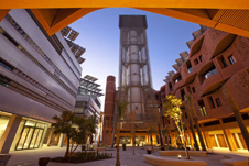 Buildings at Masdar City Institute