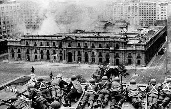 Resultado de imagen para golpe militar chile