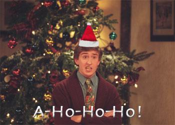Alan Partridge Christmas Ecards