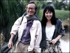 Trịnh Công Sơn (trái)