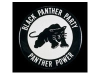 Black Panther Party badge