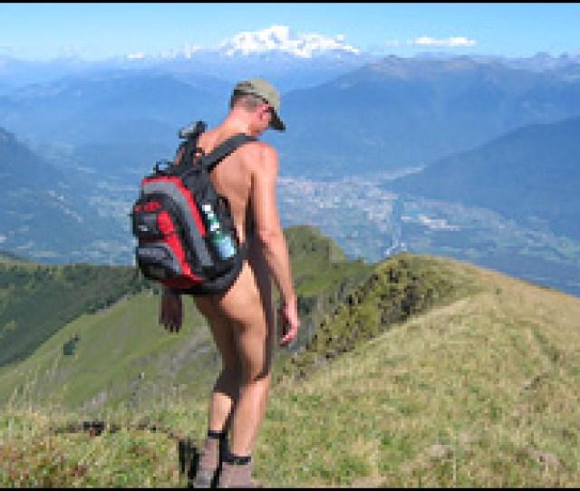Naked Hiker Paul Burkimsher