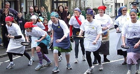 Olney pancake Race 2007