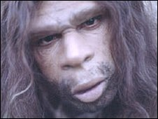 Homen de Neandertal (arquivo)