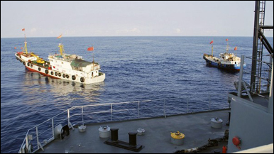 Tàu hải quân Trung Quốc trong vụ Impeccable