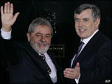 El presidente de Brasil, Lula da Silva