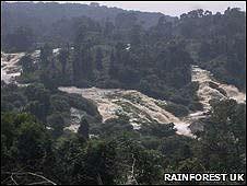 Cascadas de Kongou