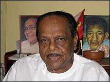 V. Anandasangaree, líder político tamil