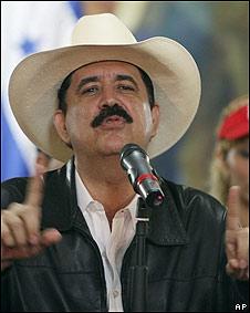Manuel Zelaya.