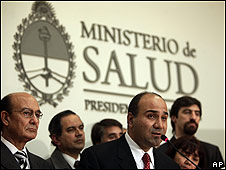 Juan Luis Manzur, ministro de Salud argentino