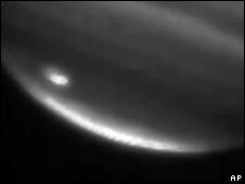 Impacto en la superficie de Júpiter